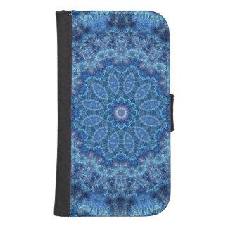 Eye of the Storm Mandala Samsung S4 Wallet Case
