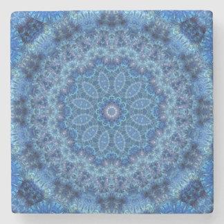 Eye of the Storm Mandala Stone Coaster