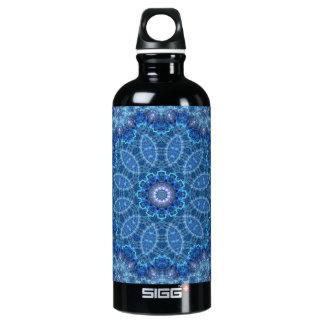 Eye of the Storm Mandala Water Bottle