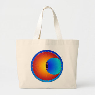 Eye Of The Sun Jumbo Tote