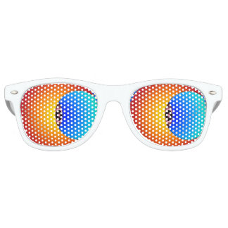 Eye Of The Sun Retro Party Shades