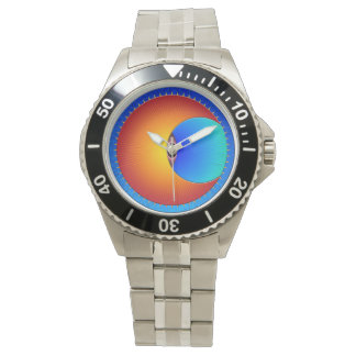 Eye Of The Sun Stainless Steel Watch