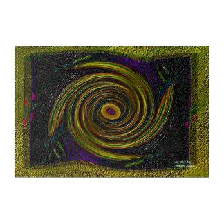 """Eye of the Tiger"" 30"" x 20"" Acrylic Wall Art"