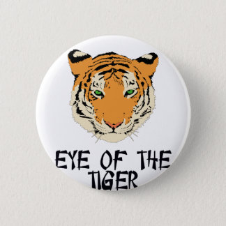 Eye of the Tiger by Chillee Wilson 2 Inch Round Button