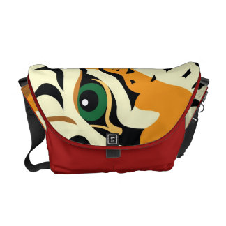 Eye of the Tiger Commuter Bags