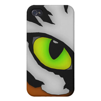 Eye of the Tiger iPhone 4 Case
