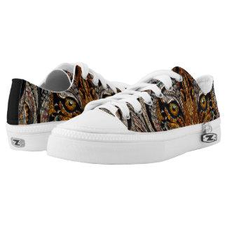 Eye of the Tiger metallic shoes