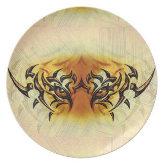 Eye of the Tiger Party Plates