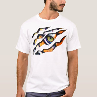 Eye of the Tiger Tear Through T-Shirt