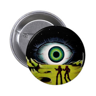 EYE OF THE WATCHER 2 INCH ROUND BUTTON