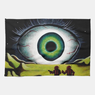 EYE OF THE WATCHER KITCHEN TOWELS
