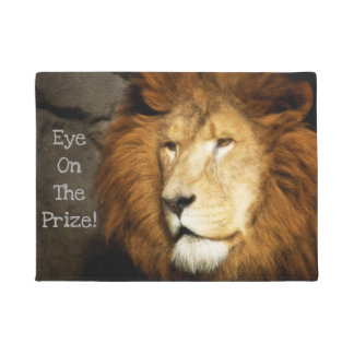 """""""Eye On The Prize!"""" Doormat"""