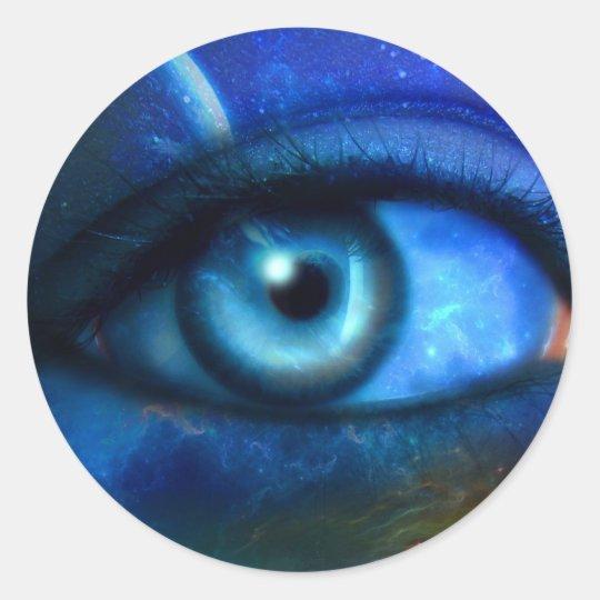 Eye on the Universe Sticker