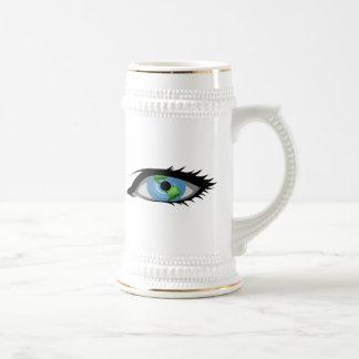 Eye on the World Coffee Mug