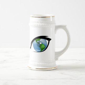 Eye on the World Coffee Mugs