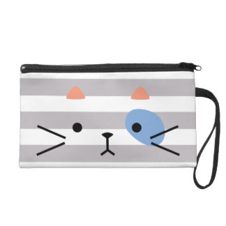Eye Patch Kitty Wristlet