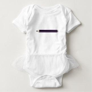 Eye pencil baby bodysuit
