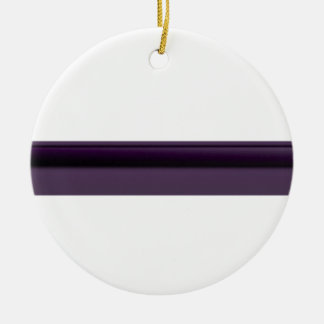 Eye pencil ceramic ornament