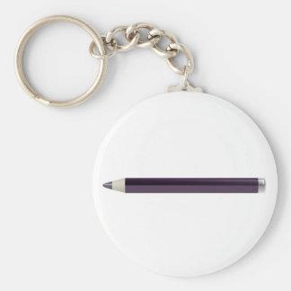Eye pencil keychain