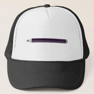 Eye pencil trucker hat