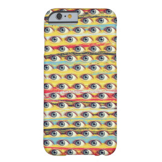 Eye Phone on Strokes Background Barely There iPhone 6 Case