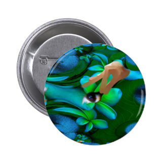 Eye Picked the Flowers Product Pin