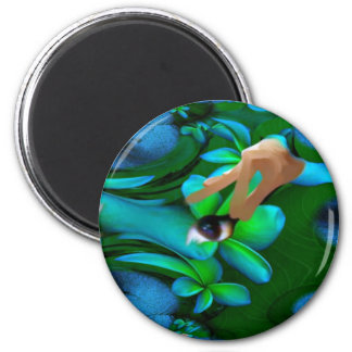Eye Picked the Flowers Product Refrigerator Magnet