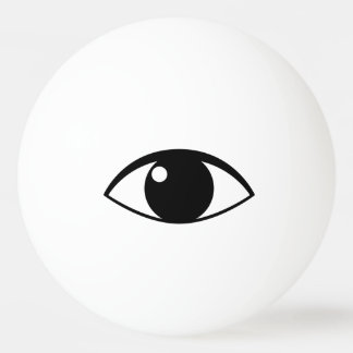 Eye ping pong ball