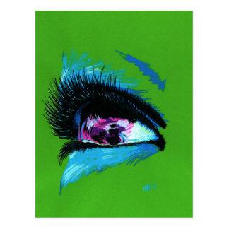 Eye Print 3 postcard