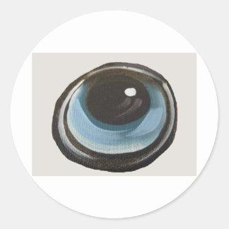 Eye Round Sticker