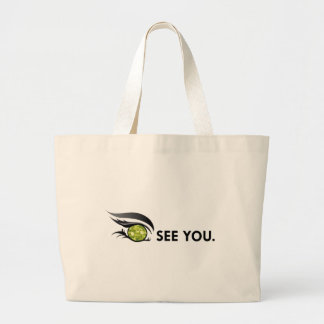 "EYE SEE YOU ""AUGUST PERIDOT"" LARGE TOTE BAG"