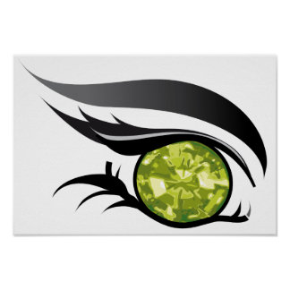"EYE SEE YOU ""AUGUST PERIDOT"" POSTER"