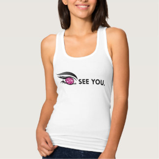 "EYE SEE YOU ""BURGUNDY"" TANK TOP"