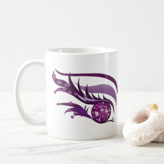 "EYE SEE YOU ""FEBRUARY PURPLE AMETHYST"" COFFEE MUG"