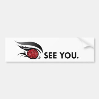 "EYE SEE YOU ""JANUARY GARNET"" BUMPER STICKER"