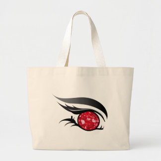 "EYE SEE YOU ""JULY RUBY"" LARGE TOTE BAG"