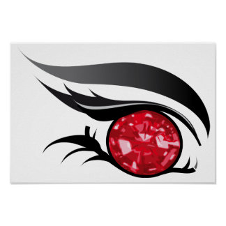 """EYE SEE YOU """"JULY RUBY"""" POSTER"""