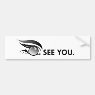 "EYE SEE YOU ""JUNE PEARL"" BUMPER STICKER"