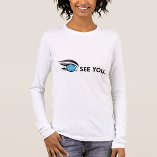 "EYE SEE YOU ""MARCH AQUAMARINE"" LONG SLEEVE T-Shirt"