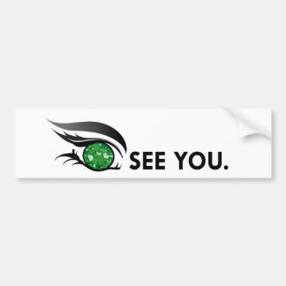 "EYE SEE YOU ""MAY EMERALD"" BUMPER STICKER"
