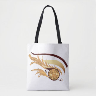 "EYE SEE YOU ""NOVEMBER TOPAZ"" TOTE BAG"
