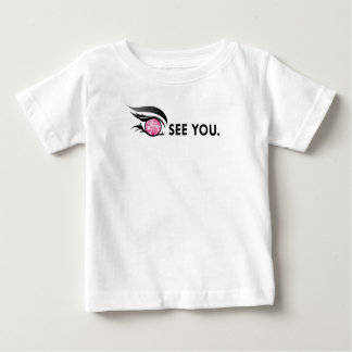 "EYE SEE YOU ""OCTOBER PINK ROSE"" BABY T-Shirt"
