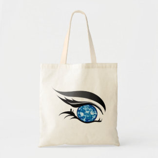 "EYE SEE YOU ""SEPTEMBER SAPPHIRE BLUE"" TOTE BAG"