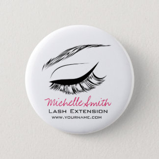 Eye Sketch Mascara Lash Extension 2 Inch Round Button