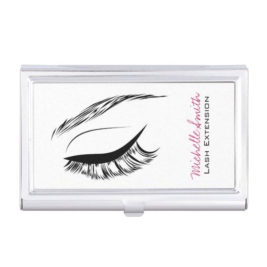 Eye Sketch Mascara Lash Extension Business Card Cases