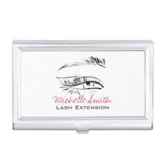 Eye Sketch Mascara Lash Extension Business Card Holder