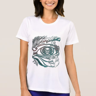 Eye Skull 75th Birthday Gifts T-Shirt
