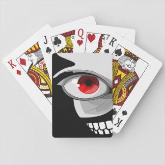 Eye Smile Design Playing Cards
