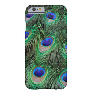 Eye-spots on Male Peacock feather Barely There iPhone 6 Case