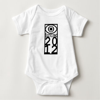 EYe Survived 2012 Baby Bodysuit